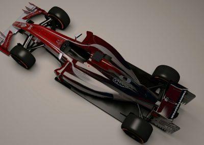 VBMadCape Top Down View Formula Sim Racing